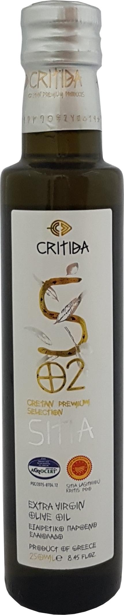 Extra pan. oliv. olej SITIA PDO 250 ml bílá sklo