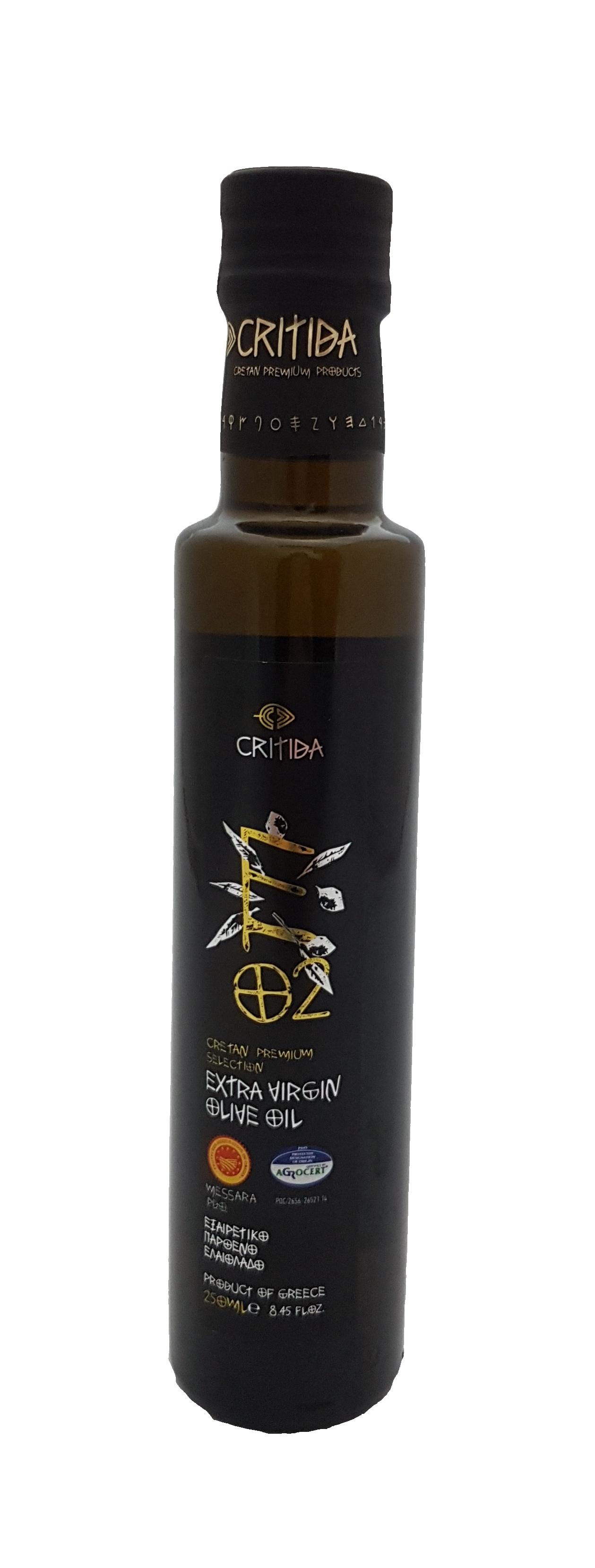Extra pan. olivový olej MESSARA PDO 250 ml sklo